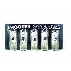 VERRE SHOOTERS TEQUILA X5 CORSICA